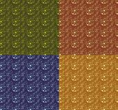 Blüht nahtlosen Hintergrund Lizenzfreie Stockbilder