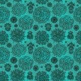 Blüht nahtloses Muster Stockbild