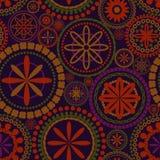 Blüht nahtloses Muster Stockbilder