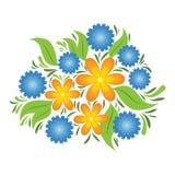 Blüht Zusammensetzung vektor abbildung