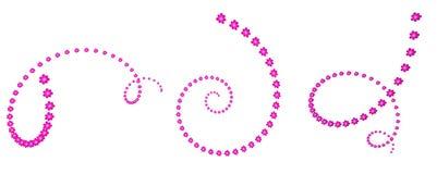 Blütenspirale lizenzfreie stockfotografie