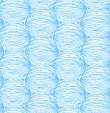 Blå abstrakt linjär modell Sömlös dekorativ förtjäna bakgrund Arkivbilder