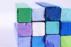 blå green Royaltyfri Fotografi