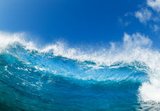 blå havwave Royaltyfri Fotografi