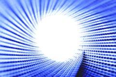 blå ljus cirkellampatextur Royaltyfri Foto
