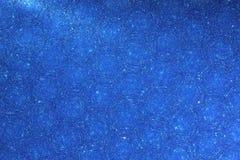 Blå bakgrund - stjärnamaterielfoto Arkivbilder