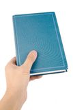 blå bok Royaltyfri Bild
