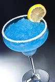 blå coctailmargarita Royaltyfri Fotografi