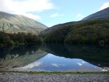 Blå öga sjö, södra Albanien Fotografering för Bildbyråer