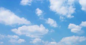 Blå himmel Arkivbild