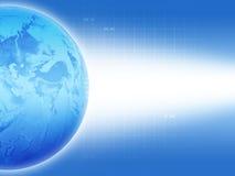 blå jord Royaltyfri Bild