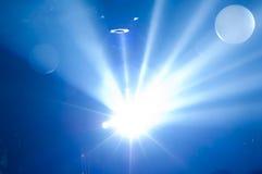 Blå ljus bakgrund Royaltyfria Foton