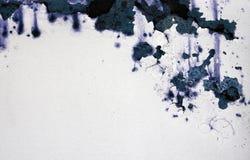 bl malowaniu rusty ściana white Zdjęcie Stock