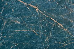 blå marmortextur Royaltyfria Foton