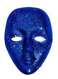 Blå maskering Royaltyfria Bilder