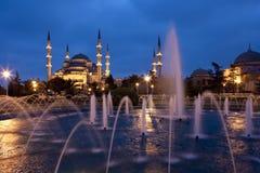Blå moské - Istanbul Royaltyfria Bilder