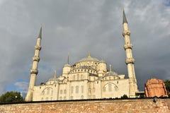 Blå moské, Istanbul Fotografering för Bildbyråer