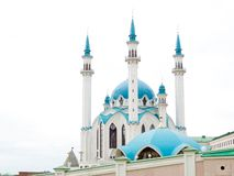 Bl? mosk? Kul - Sharif i Kazan royaltyfri fotografi