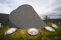 Εκκλησία Blönduà ³ s, Ισλανδία Στοκ Εικόνες