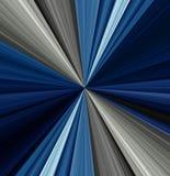 Bl?a och svarta anst?ndiga tapeter f?r hem och kontor vektor illustrationer