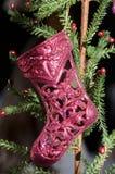 blå skugga för prydnad för julblommaillustration Royaltyfri Fotografi