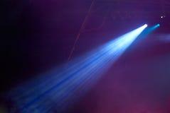 blå stråle Arkivbild