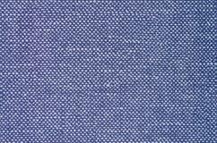 Blå textilbakgrund Royaltyfri Bild