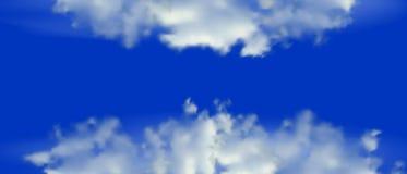 bl?tt molnigt f?r bakgrund ocks? vektor f?r coreldrawillustration royaltyfri illustrationer