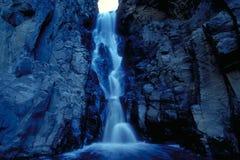 blå vattenfall Arkivbilder