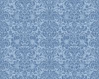 blå victorianwallpaper Royaltyfri Bild