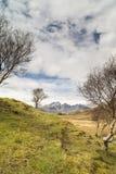 Bla Beinn widok od Cill Chriosd na wyspie Skye Fotografia Royalty Free