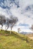 Bla Beinn widok od Cill Chriosd na wyspie Skye Obraz Royalty Free