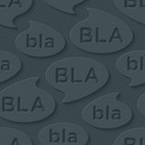Bla-bla-bla walpaper. Stock Photo