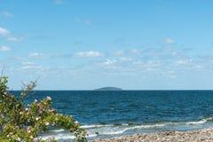 Bla Jungfrun ö en svensk nationalpark Arkivbild