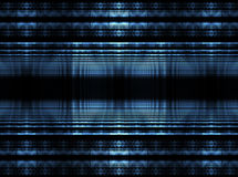 blåa kuber Arkivbild