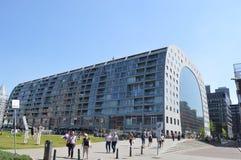 Blaak markt in Rotterdam Stock Image