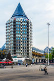 Blaak, Rotterdam, die Niederlande Stockfotos