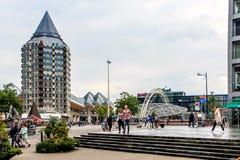 Blaak, Rotterdam, Nederland Stock Foto's