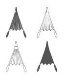 blaasbalgen vector illustratie