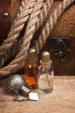 Blaasjes met een elixir Stock Fotografie