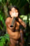Blaaspijp uit de Amazone Royalty-vrije Stock Foto