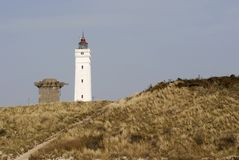 Blaavandshuk Lighthouse Royalty Free Stock Image
