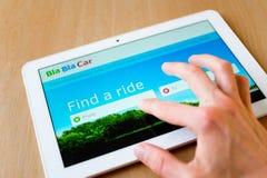 BlaBlaCar Стоковое Изображение