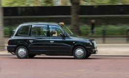 Blac小室出租汽车在伦敦 库存照片