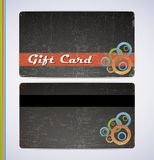 Blac Gift Card Royalty Free Stock Photos