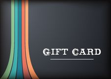 Blac Gift Card Stock Photos