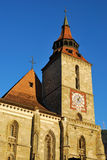 Blach Church, Brasov, Romania. The Black Church is a cathedral in Brasov, a city in south-eastern Transylvania, Romania Royalty Free Stock Image