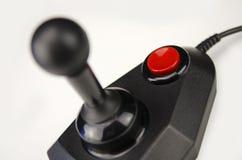 Black 1980s joystick Stock Photos