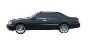Black 4 door sedan Royalty Free Stock Photography