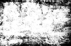 Black abrasion grunge template - rough wall background Royalty Free Stock Photography